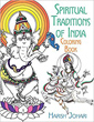 Spiritual Traditions of India Coloring Book [Paperback]
