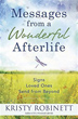 Messages From a Wonderful Afterlife: Signs Loved Ones Send from Beyond [Paperback]