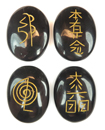 Usui Reiki Set (Black Jasper)
