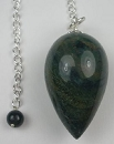 Drop Pendulum (Green Agate)