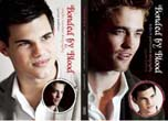 Bonded by Blood: Robert Pattinson and Taylor Lautner