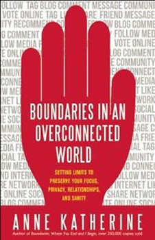 Boundaries in an Overconnected World: Setting Limits to Preserve Your Focus, Privacy, Relationships, and Sanity [Paperback]
