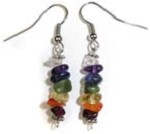 Hand-crafted Earrings (Chakra Chips)