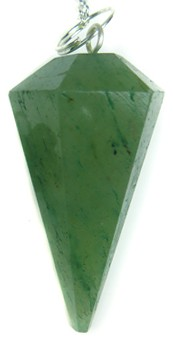 Faceted Pendulum (Aventurine)
