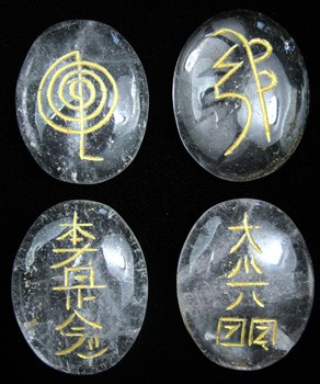 Usui Reiki Set (Clear Quartz)