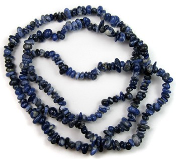 Chip Beads (Sodalite)
