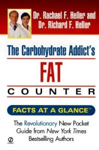 carbohydrate addict s fat counter the