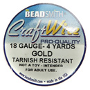Craft Wire (18 Gauge Gold)