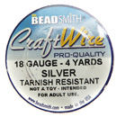 Craft Wire (18 Gauge Silver)