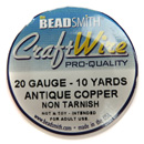 Craft Wire (20G Antique Copper)