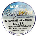 Craft Wire (20 Gauge Silver)