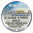 Craft Wire (22 Gauge Gold)