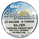 Craft Wire (22 Gauge Silver)