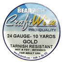 Craft Wire (24 Gauge Gold)