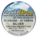 Craft Wire (24 Gauge Silver)