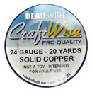 Craft Wire (24 Gauge Solid Copper)