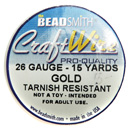 Craft Wire (26 Gauge Gold)