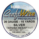 Craft Wire (26 Gauge Silver)