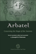 Arbatel: Concerning the Magic of Ancients [Hardcover]