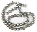 Bead Strands (Silver Pearl)