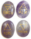 Four Element Set (Amethyst)