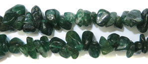 Gemstone Bead Strand (Green Aventurine Chips)