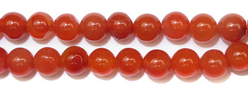 Gemstone Bead Strand (Carnelian/5MM)
