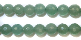 Gemstone Bead Strand (Faceted Green Aventurine/8MM)