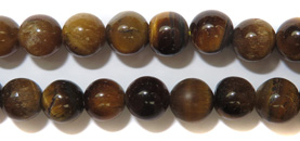 Gemstone Bead Strand (Tiger's Eye/5MM)