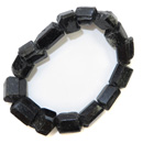 Black Tourmaline Stretchy Bracelet