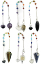 Easy Shopper Pendulum Kit (6 Pendulum / Jewelry Combo)