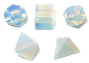 5 Piece Sacred Geometry Kit (Opalite)