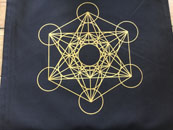 Sacred Geometry Cloth (Megatron's Cube)