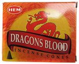 HEM Incense Cones (Dragons Blood)