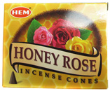 HEM Incense Cones (Honey Rose)