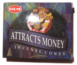 HEM Incense Cones (Attracts Money)