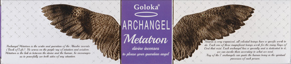 Goloka Incense (Archangel: Metatron)