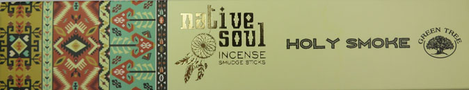 Native Soul Incense Smudge Sticks (Holy Smoke)