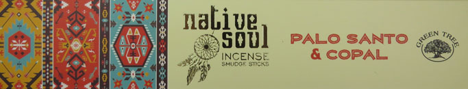 Native Soul Incense Smudge Sticks (Palo Santo & Copal)