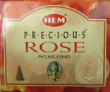 HEM Incense Cones (Precious Rose)