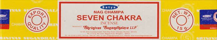 Satya Incense (Nag Champa Californian White Sage)