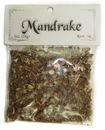 Bagged Botanicals (Mandrake: Root, Cut)