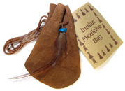 American Indian Medicine Bag (Brown)
