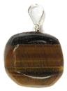 Tumbled Stone Pendant (Tiger Eye)
