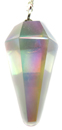 Angel Aura Quartz Pendulum (Faceted)