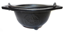 Pentacle Cauldron Burner