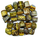 Runestone Set (Tiger Eye)