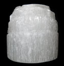 Selenite (Tower Candle Holder)