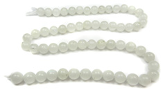 5-7mm Bead Strands (White Rainbow Moonstone)