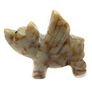 Spirit Animal Stones (Angel Pig)